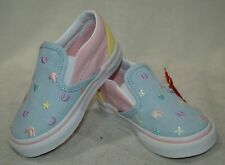 4829c7269 VANS Classic Slip on Charms Embroidery/multi Toddler Shoes 6