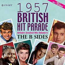 VARIOUS-British Hit Parade 1957 The B Sides Part 2 (4CD)  (US IMPORT)  CD NEW