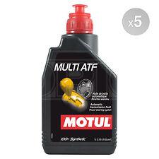 Motul Multi ATF Automatic Transmissions Fluid Gear Box Oil 5 x 1 Litre 5L