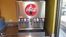 Lancer 8 Flavor Valve Beverage Dispenser Soda Fountain Mccanns Carbonator Rack