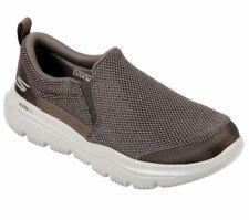 Skechers Khaki shoes Men Comfort Soft Slipon Casual Gowalk Evolution Ultra 54738