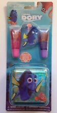 3 pc Set DISNEY FINDING DORY Liquid Flavored Gloss and Zip Tin