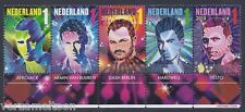 NVPH 3229 - 3233 NEDERLANDSE DJ'S  2014 serie postfris