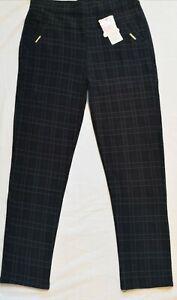 Women Winter  Warm t Fleece Lined Thermal  Leggings Pants With Pockets 8-18