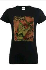 Womens Ladies Tshirt DC Comics Poison Ivy Bombshells Black small 8 New Official