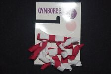 NWT Gymboree Indian Summer Girls Hair Curly Curlies Ribbon Bows Red White 2 3 4