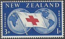 New Zealand 1959 RED CROSS  3d + 1d Unhinged Mint SG775