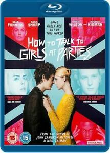 How to Talk to Girls at Parties Blu-ray (2017)
