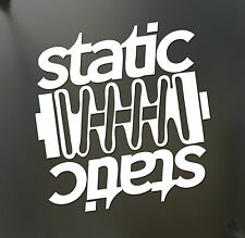 static sticker Funny JDM acura honda hooligan car lowered coilover window decal