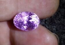 Pink Purple loose kunzite gemstone deep colour from Pakisan 7.01ctseye clean