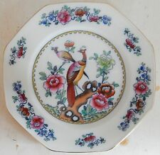 """ANTIQUE F. WINKLE & CO WHIELDON WARE """"OLD CHELSEA"""" 8-SIDED CHINA PLATE PRISTINE"""