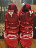 Nike Kobe AD TB Promo Kobe Bryant Red AT3874-600 Basketball Shoes Men's Size 8.5