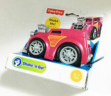 Fisher Price Shake Go Hot Rod Truck Car Pink Ages 3+ New Toy Boys Girls Race Fun