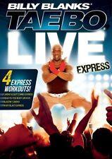 Billy Blanks Tae Bo Cardio Kickboxing - TAE BO Live EXPRESS - 4 Workouts!