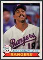 2016 Topps Archives Juan Gonzalez #120 Texas Rangers