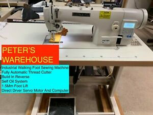 INDUSTRIAL AUTOMATIC WALKING FOOT SEWING MACHINE (PETER KL0303D4)