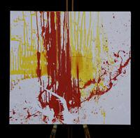 Gemälde Kunstwerk AMELIE MACK & PHILIPP RAUSCHENBERGER handsigniert Original Art