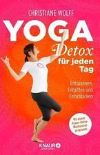 Yoga-Detox für jeden Tag von Christiane Wolff    UNGELESEN