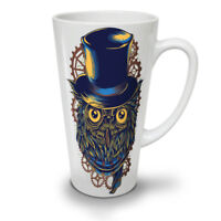 Owl Cool Fashion NEW White Tea Coffee Latte Mug 12 17 oz | Wellcoda