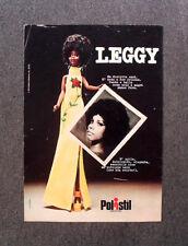 [GCG] N289 - Advertising Pubblicità - 1974 - POLISTIL , LEGGY NEW ORLEANS