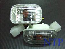 CRYSTAL FENDER LIGHT INDICATOR HOLDEN TF RODEO UTE 97-02 99 01 ISUZU TFR PICKUP