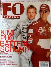 F1 Racing 57 2003 Perchè Fisichella sceglie la Suaber. Alonso. Schumacher Sc.46