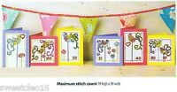 BIRTHDAY CARDS  -     CROSS STITCH PATTERN  ONLY   A6L3S