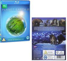 PLANET EARTH II 2016: David Attenborough Sequel BBC Nature TV Series NEW BLU-RAY
