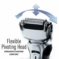 Panasonic Electric Razor Men 3 Blade Cleaner Cordless Wet Dry Trimmer Shaver Esr