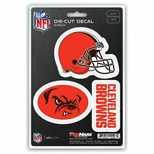 Cleveland Browns Auto Decal NFL Car Sticker Pack of 33