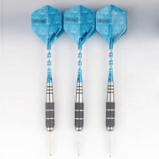 36pcs Set Steel Needle Tip Darts With Dart Flights Shafts Aluminium 23g E2A0