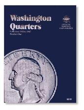 Whitman 9018 Washington Quarters Number #1 Coin Folder 1932 - 1947 Albums book