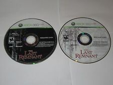The Last Remnant (Xbox 360, 2008) Discs Only