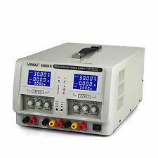 4-DIGIT DUALDIGITAL VARIABLE TRIPLE OUTPUTS LINEAR DC POWER SUPPLY0-30VOLTS 0-5A