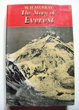 1953 Edition THE STORY OF EVEREST By W. H. MURRAY Photo & Map Illustrated w/DJ
