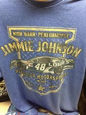 JIMMY JOHNSON NASCAR SHIRT HIGH BANK PERFORMANCE NWT