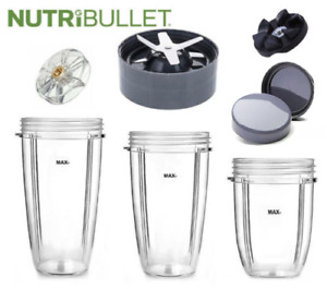 Replacement Accessories for Nutri Bullet Nutribullet Extras Spare Parts Cups +