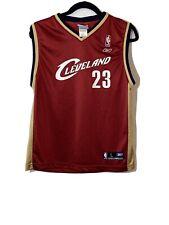 Reebok Cleveland Cavaliers Lebron James Jersey Youth Size 14-16 Large