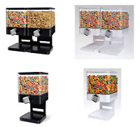 Cereal Dispenser - Double-Single Cereal Storage Machine,1 Ounce of dry food