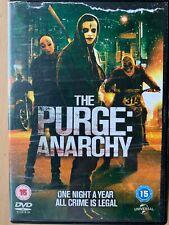 The Purge Anarchy DVD 2014 Action Thriller Horror Sequel Film Movie 2