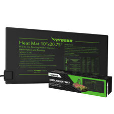 "VIVOSUN Seedling Heat Mat 10""x20"" Seed Starter Pad Germination Propagation Clone"