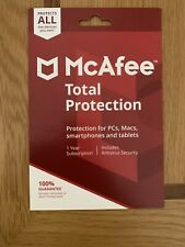 McAfee Total Protection Full Security Sofware with Antivirus - 1 Year 10 Devices