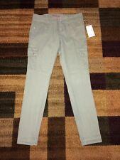 juniors green Bongo cargo skinny pants size 5