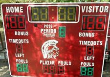 Wireless Fair-Play Trans-Lux  BB-1640-4 SCOREBOARD WITH MP-70-0211 Controller