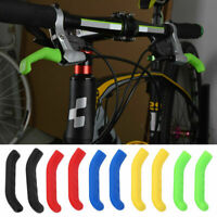 MTB Road Bicycle Soft Silicone Handle Grips Handlebar Protector Cover Bike Boot