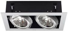 Kanlux MATEO DLP 250 GR 04961 Twin Tilt Ceiling Downlight Shop Fitting Cube