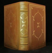 'Early Autumn' by Louis Bromfield-Leather Book-Franklin Library-Pulitzer classic