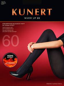 """KUNERT 318000 """"Warm Up 60"""" - blickdichte Strumpfhose, versch. Farben und Größen"""