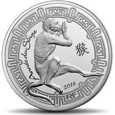 EUR, FRANCE, Monnaie de Paris, 10 Euro, Année du singe, 2016, FDC #93597