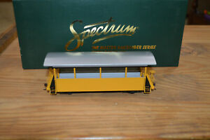 Bachmann 26003 On30 Excursion Car Yellow with Silver Roof in OB